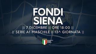 Serie A1M [13^]: Fondi - Siena 27-28