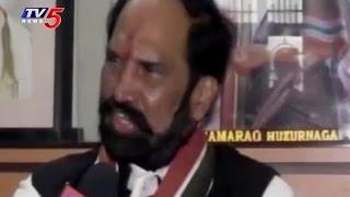 TPCC Chief Uttam Kumar Reddy Fires on CM KCR Over Public Meet in Warangal