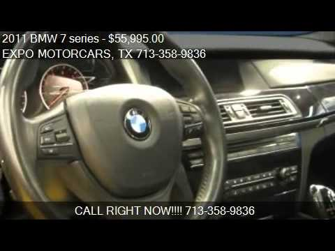 2011 Bmw 7 Series M Sport For Sale In Houston Tx 77060