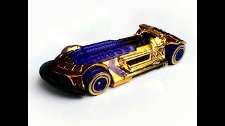 2018 Golden X-Steam Hot Wheels diecast car model