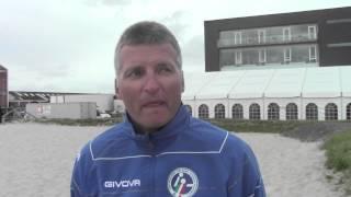 Giorno #8 - EURO 2013 Beach Handball: la gioia di Tamas Neukum