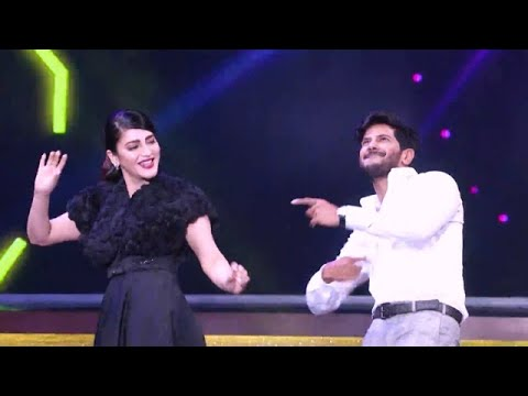 Vanitha Film Awards 2018 I Dulquer and Shruti rocks the floor!  I Mazhavil manorama