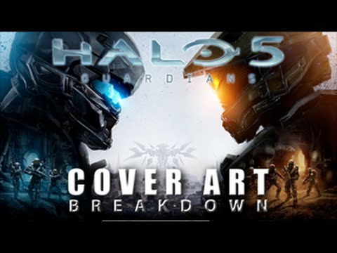 Halo 5 Official Cover Halo 5 Cover Art Breakdown