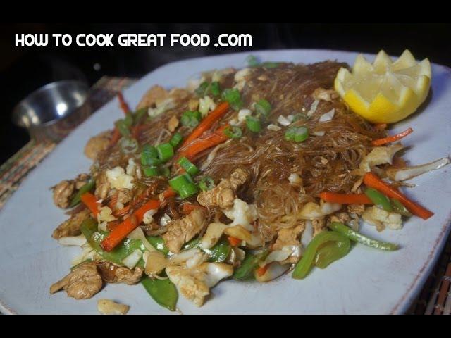 Sotanghon Guisado Manok Recipe - Tagalog Pinoy