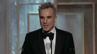 Daniel Day Lewis wins Best Actor - Golden Globes 2013