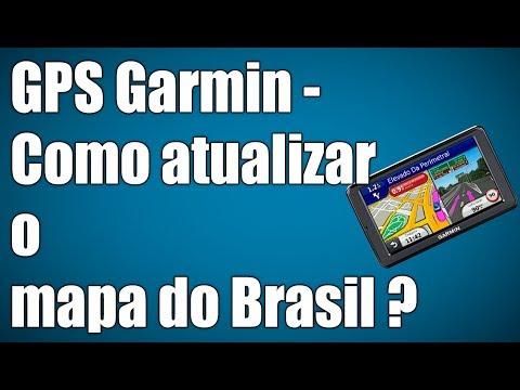 GPS Garmin - Como atualizar o mapa do Brasil ? (Gratuito)