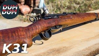 Švajcarski K31 opis puške (gun review, eng subs)