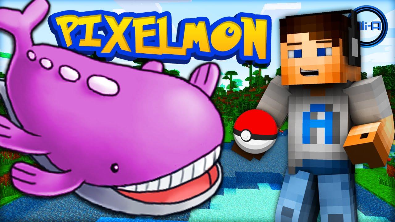 how to change pokemon in pixelmon
