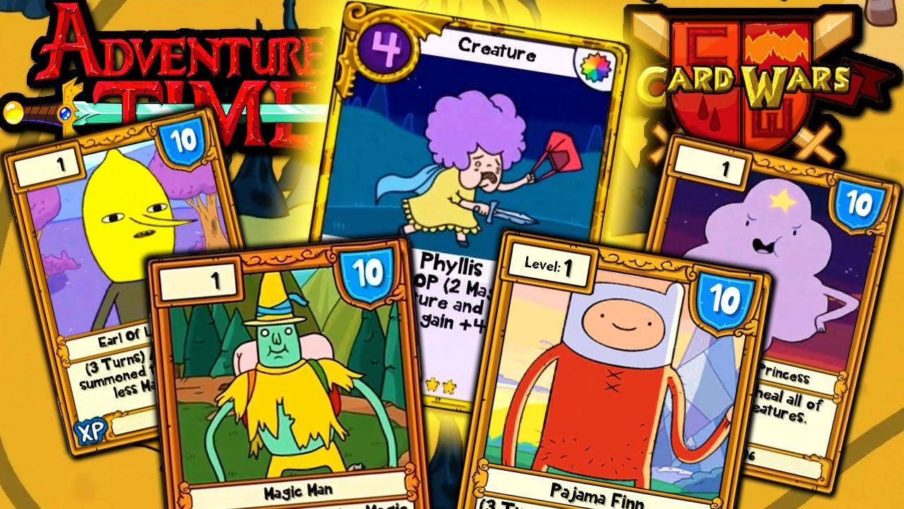 Card Wars - Adventure Time Apk+MOD(Gems)+Data v1.11.0