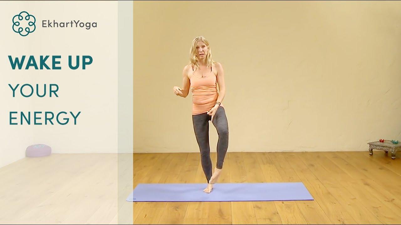 Wake up your energy, Yoga with Esther Ekhart