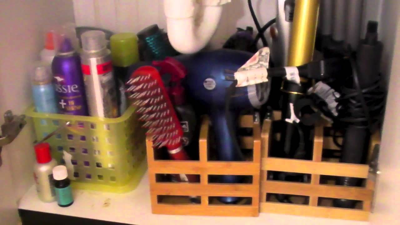 How To Organize Your Hair Styling Tools Youtube