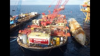 Mammoet Salvage - Wreck removal of the SSV Jupiter 1