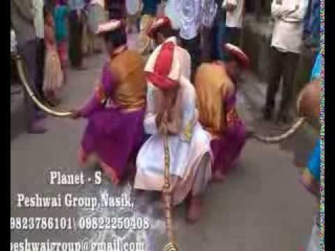 Nasik Dhol For Ganesh Puja, Durga Puja, Jain Diksha Procession & Celibration - Peshwai Group Nasik video