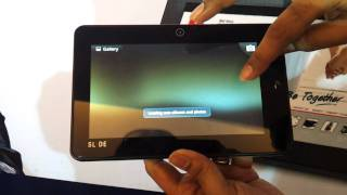 Iball tablet slide full hd video review hands on