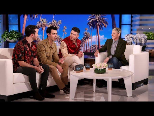 Jonas Brothers on Becoming the Kardashians for Their Viral TikTok thumbnail