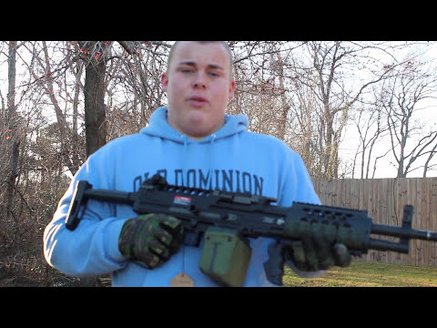 Ares LMG review by Watchalewknat