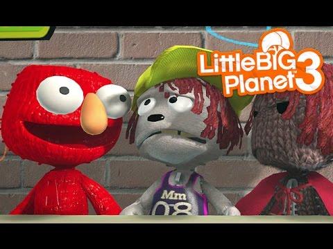 LittleBIGPlanet 3 - Nightmare on Sesmee Street [Funny Movie Starring You] - PS4