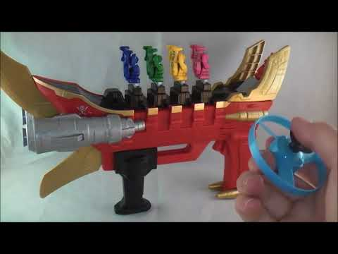 Super Mega Cannon Review (Power Rangers Super Megaforce)