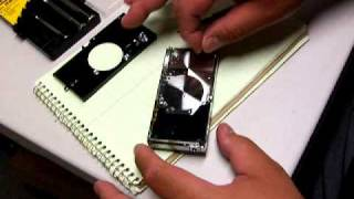 Kodak V570 Faceplate Removal - 110228, part 2