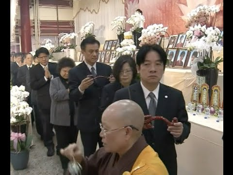 Tainan Holds 1st Seventh Day Service to Mourn Dead from Earthquake