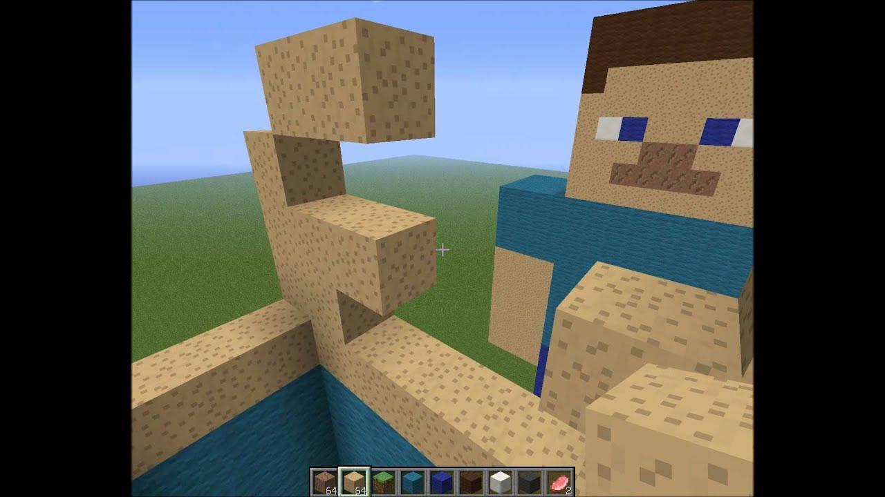 Tuto comment faire un skin g ant sur minecraft youtube - Comment creer un chateau dans minecraft ...