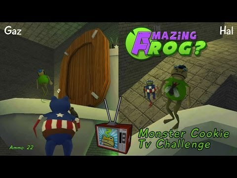 Amazing Frog : Monster Cookie Easter Egg