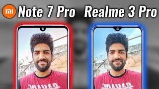 Realme 3 Pro vs Redmi Note 7 Pro Camera Test (Stock Cam)