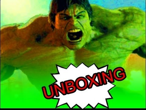 Unboxing: The Incredible Hulk Limited Edition blu-ray