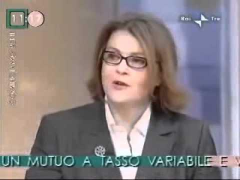 TEDESCHI a RAITRE parla di Mutui con Frizzi e Di Gati – Cominciamo bene 28 gennaio 2009