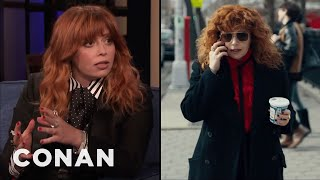 "Natasha Lyonne On Her ""Russian Doll"" Character's Distinct Style - CONAN on TBS"