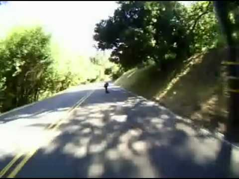 Downhill Skateboarding - Liam Morgan