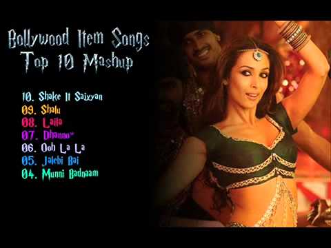Bollywood Item dj Songs mix Mashup 2014