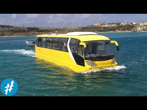 7 Kendaraan Amfibi Paling KEREN Dan CANGGIH Di Dun