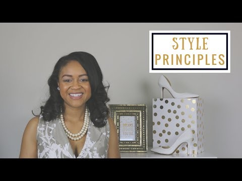 4 Style Principles Taken From Fashion Design