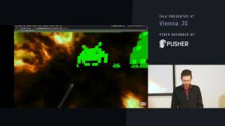 ViennaJS, AR Space Invaders clone with A-Frame and Javascript, February 2018