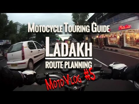 Motorcycle Guide to Ladakh - Deciding the Route | VLog | Hyderabad | Fuzz Rides | Pulsar