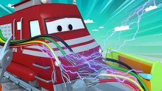 Xe lửa dành cho thiếu nhi - Xe lửa thợ điện - Thành phố xe 🚉 phim hoạt hình về