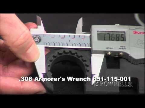 Brownells - AR-15/M16/AR-Style .308 Armorer's Wrench