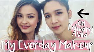 MY EVERYDAY MAKEUP ON EDWARD AVILA | Natural Makeup Tutorial