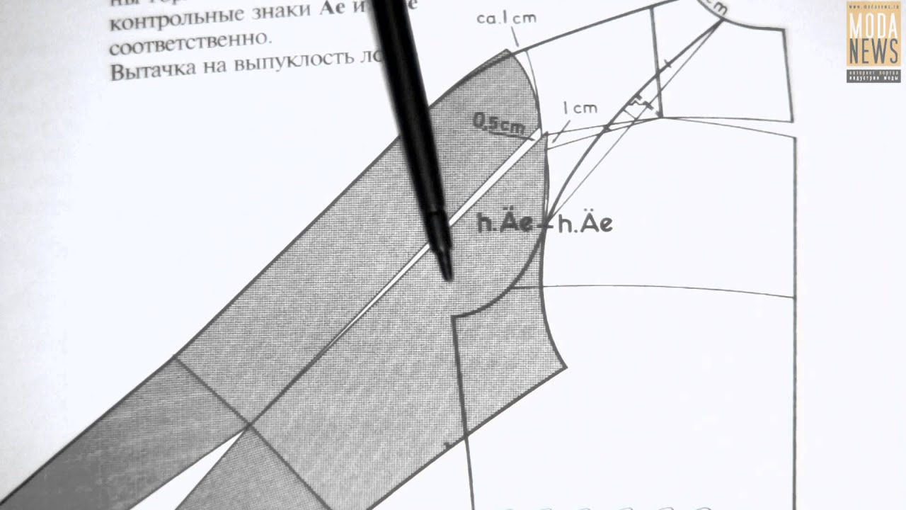 Как сделать выкройку рукава-реглан уже