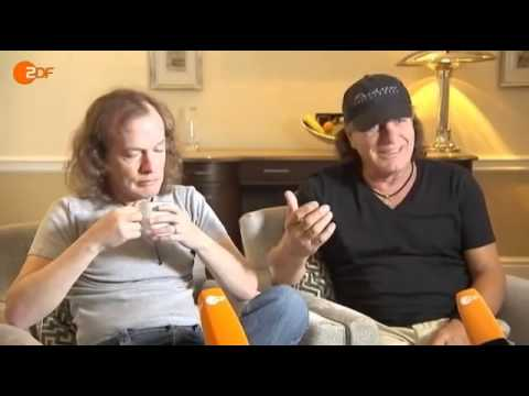 AC/DC Interview Angus Young Brian Johnson [ZDF 2011]
