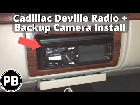1994 - 1999 Cadillac Deville Stereo and Backup Camera Install