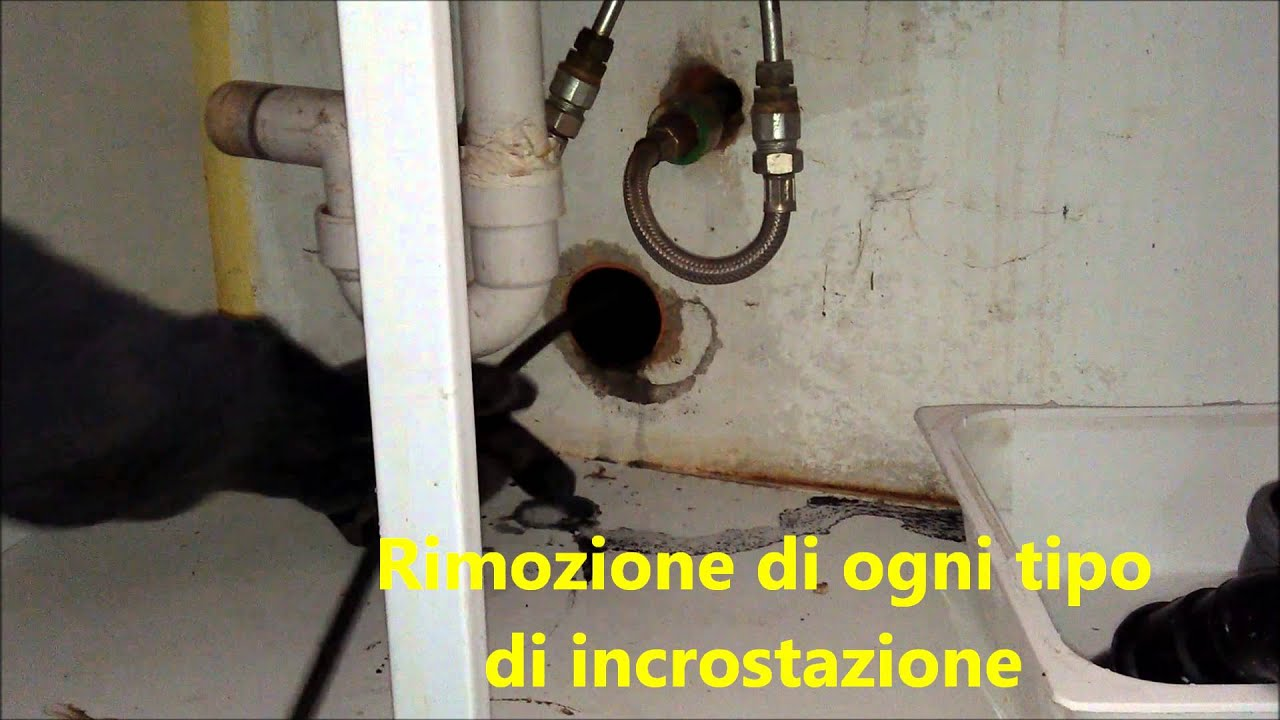 Soffietto pulizia tubi lavandini cucine e scarichi bagni spurgo pozzi sant 39 ambrogio di - Scarico cucina intasato ...
