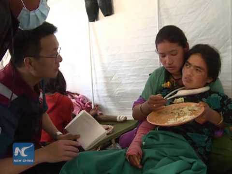 Chinese doctor: Post-quake Nepal urgently needs psychological care