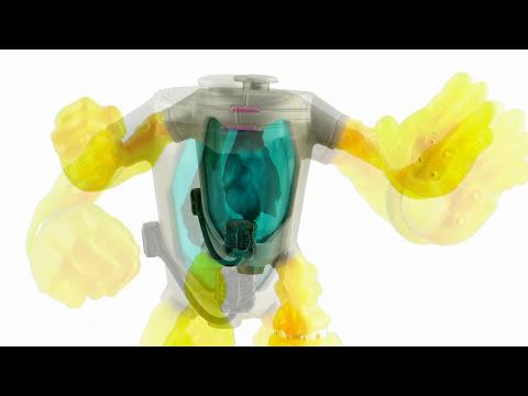 Nickelodeon Teenage Mutant Ninja Turtles Mutagen Man Figure Video Review