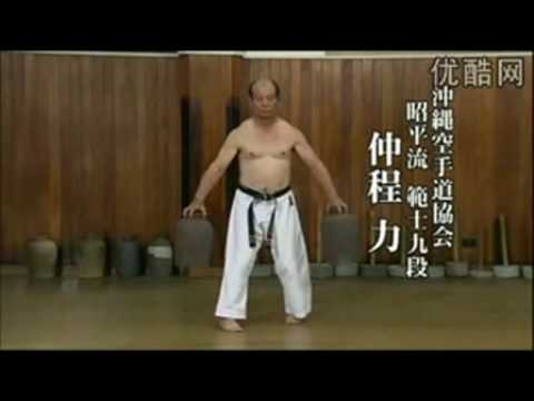 Okinawan Karate Training