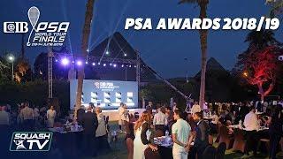 Squash: PSA Awards 2018/19