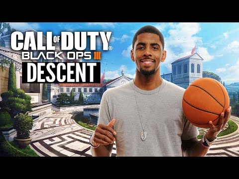 """Call of Duty: Black Ops 3 """"DESCENT"""" DLC w/ Kyrie Irving! (Call of Duty: Black Ops 3 DLC #3 Gameplay)"""