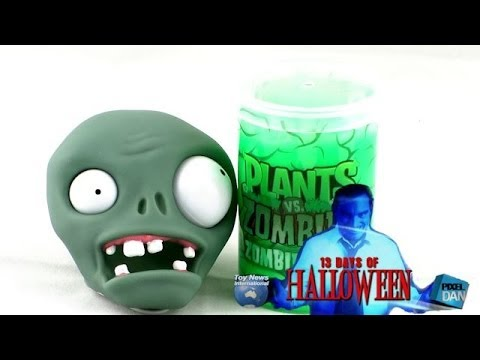 Jazwares Plants vs Zombies Zombie Ooze Video Review