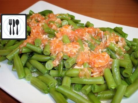 Закуска/салат из зеленой фасоли. Как приготовить стручковую фасоль рецепт. Borulce salatasi